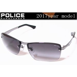 POLICE ポリス サングラス 2017年ニューモデル SPL522J-568N グレーグラデーション チタン製  国内正規品|shopkazu