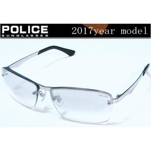 POLICE ポリス サングラス 2017年ニューモデル SPL522J-583X ミラーハーフ チタン製 国内正規品 |shopkazu