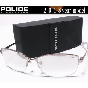 POLICE ポリス サングラス 2018年ニューモデル POLICE STORM SPL744J-583X ミラーハーフ チタン製  国内正規品|shopkazu