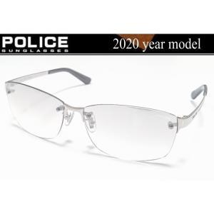 ポリス サングラス POLICE 2020年モデル ツーポイント 軽量チタン製フレーム POLICE LANE  国内正規品デリーゴジャパン SPLA63J-583X |shopkazu