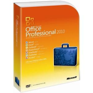 Microsoft Office Professional 2010 通常版 [パッケージ] (DVD-ROM)