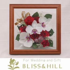 【送料無料】【ギフト対応無料】 Bliss&Hill  グラスフラワー Lサイズ 【JFL-RK】 W28.0  H28.0  D13.7cm 【日本製】|shopkurasu
