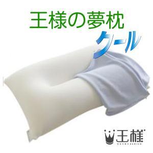 王様の夢枕 クール  (専用カバー付) W52×D34×H12cm 【王様のマルチ枕をプレゼント】 shopkurasu