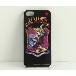 ジョジョの奇妙な冒険 iPhone5専用ケース  シーザー アントニオ ツェペリ|shoplines