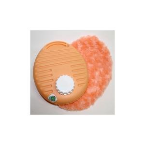 湯たんぽ ポリ湯たんぽプチ ふわふわカバーセット 0.9L オレンジ カラフルゆたんぽ (TPK-1072W)|shoploop