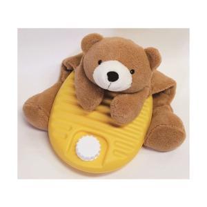 湯たんぽ ぬいぐるみ 動物カバーセット くま 1.8L ベアー 熊 ぬいぐるみ ゆたんぽ|shoploop