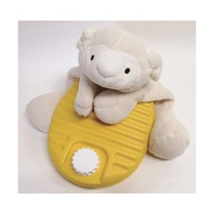 湯たんぽ ぬいぐるみ 動物カバーセット ひつじ 1.8L シープ 羊 ぬいぐるみ ゆたんぽ|shoploop