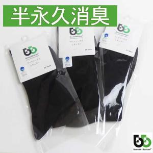 BREEZE BRONZE(ブリーズブロンズ) 急速分解消臭 消臭ソックス レギュラーソックス 3枚セット 消臭靴下