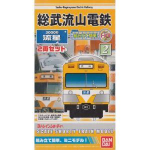 Bトレインショーティー 総武流山電鉄3000形 流星 2両セット|shopmore