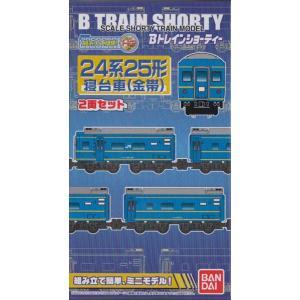 Bトレインショーティー 24系25形寝台車(金帯) 2両セット|shopmore