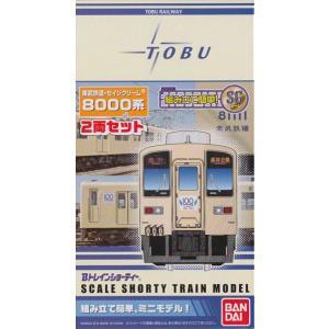 Bトレインショーティー 東武鉄道・セイジクリーム 8000系 2両セット|shopmore