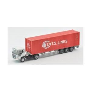 【開封品】トレーラーコレクション第6弾 日野ドルフィンプロフィア+T.S.LINES(40ft背高コンテナ)|shopmore