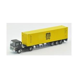 【開封品】トレーラーコレクション第6弾 日野ドルフィンプロフィア+MSC(40ft背高コンテナ)|shopmore