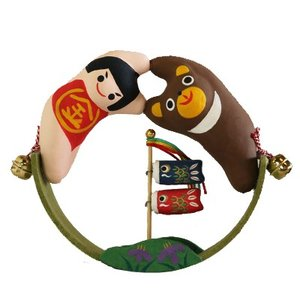 (送料無料)子供の日のお祝いに五月飾り 金太郎ゆらりん|shopnext