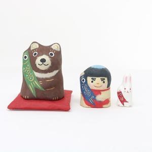 (送料無料)子供の日のお祝いに五月飾り はりこーシカ 金熊 shopnext