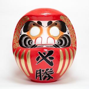 (送料無料)選挙だるま 必勝祈願 事業目標 試合 高崎だるま 達磨 ダルマ 必勝だるま60号|shopnext