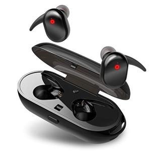 進化版 Bluetooth5.0&IPX6防水 Bluetooth イヤホン 完全 ワイヤレス イヤホン スポーツ Hi-Fi高音質 CVC|shopnoa