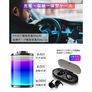 進化版Bluetooth5.0・両耳通話 Bluetooth イヤホン 高音質 音量調整 完全 ワイヤレス イヤホン 自動ペアリング 自動O|shopnoa