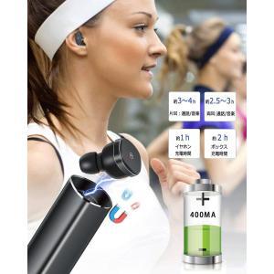 Bluetooth イヤホン 完全 ワイヤレス イヤホン 自動ペアリング 自動ON/OFF ブルートゥース イヤホン Bluetooth 5|shopnoa