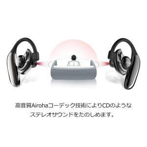 Bluetooth イヤホン 高音質 耳掛け式 ワイヤレスヘッドセット 片耳 両耳とも対応 ブルートゥース スポーツ イヤホン マイク内蔵|shopnoa