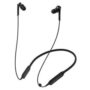 オーディオテクニカ Bluetooth対応 ダイナミック密閉型カナルイヤホン(ブラック)audio-technica SOLID BASS shopnoa