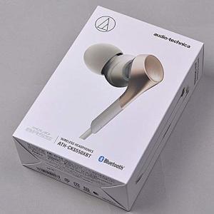 オーディオテクニカ Bluetooth対応 ダイナミック密閉型カナルイヤホン(シャンパンゴールド)audio-technica SOLID shopnoa