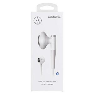 オーディオテクニカ Bluetooth対応ダイナミックセミオープン型イヤホン(ホワイト)audio-technica ATH-C200BT- shopnoa