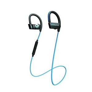 Jabra SPORT PACE WIRELESS ブルー (Bluetooth イヤホン マイク ヘッドセット/耐衝撃/防塵防滴/音声ガイ shopnoa