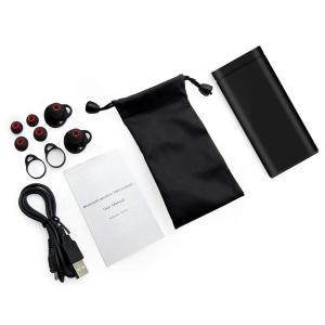 Bluetoothイヤホン Vetap収納・充電一体 ブルートゥース イヤホン 両耳 左右分離型 防水 高音質 ワイヤレススポーツイヤホン|shopnoa
