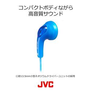 JVC HP-F140-W グミホン ステレオミニイヤホン ホワイト|shopnoa