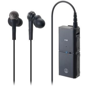 audio-technica SOLID BASS カナル型イヤホン ヘッドホンアンプ内蔵 ワイヤレス ブラック ATH-CKS55BT shopnoa