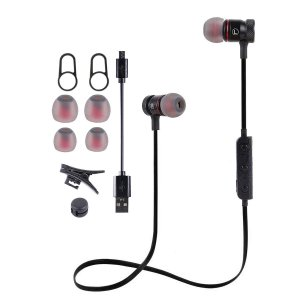 CORNMI Bluetoothイヤホン 高音質対応 ヘッドホン マグネット式 スポーツ 人間工学設計 ブルートゥースイヤホン|shopnoa