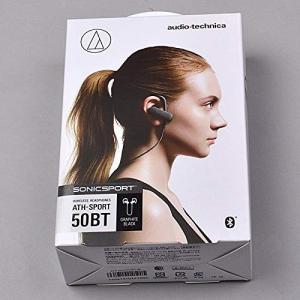 オーディオテクニカ Bluetooth対応 スポーツワイヤレスイヤホン(グラファイトブラック)audio-technica ATH-SPOR shopnoa