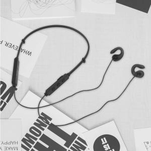 イヤホン 開放型 通気ヘッドフォン Bluetooth V4.2 デュアルリ スニング マイク付 2...