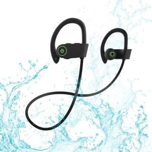 U8 Bluetoothイヤホン高音質スポーツIPX7 防塵防水マイク内蔵/CVC6.0ノイズキャンセリングiPhone、Android各種|shopnoa