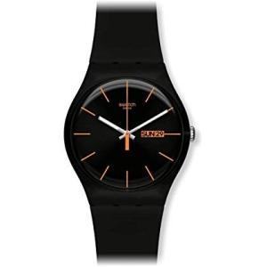 スウォッチSWATCH 腕時計 NEW GENT(ニュージェント) DARK REBEL(ダーク・レーベル) SUOB704 正規輸入品|shopnoa