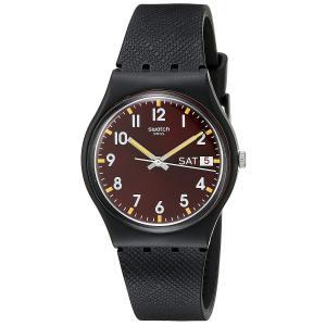 スウォッチSWATCH 腕時計 GENT(ジェント) SIR RED (サー・レッド) GB753 正規輸入品|shopnoa