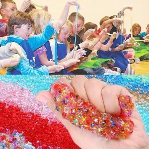 Tebrcon 105個 スライム キット DIY ツール ねんど 作り セット おもちゃ 手作り キット 金魚鉢ビーズ カラフルフォーム shopnoa