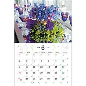 2019 パリスタイル フラワーカレンダーPas de deux 田島由紀子 監修|shopnoa
