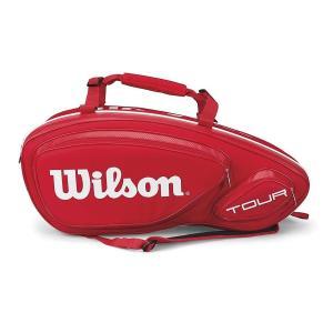Wilson(ウイルソン) テニス ラケットバッグ テニスバッグ 錦織圭 使用モデル ツアー V 1...