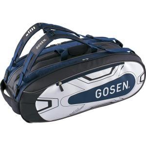 ゴーセン(GOSEN) テニス バドミントン ラケットバッグ ProTour BA18PRTG ネイビー(17)|shopnoa
