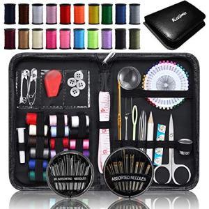 kasimir 裁縫セット ソーイングセット 携帯式 ブラック|shopnoa
