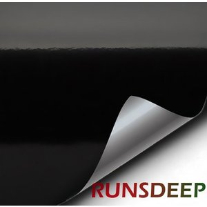 RunsDeep 幅11CM×長2M 超便利 超強力 面ファスナー 黒 ブラック フックループ オスメスセット 縫製タイプ 裏粘着剤なし 縫|shopnoa