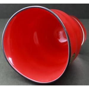 ガラス漆 ゆらら フリーグラス (化粧箱入) 赤 HT2545