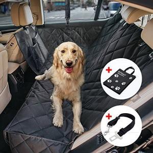 改良型ペット用ドライブシート カーシート用品 車用ペットシート カーシートカバー ドライブボックス 大中小型車用 汚れに強い防水シート 水洗|shopnoa