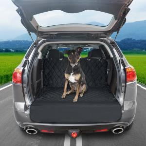 Focuspet ペット用ドライブシート ペットシート 後部座席シートカバー 高品質 後部座席用 SUV用 トラック用 防水 汚れに強い 水 shopnoa