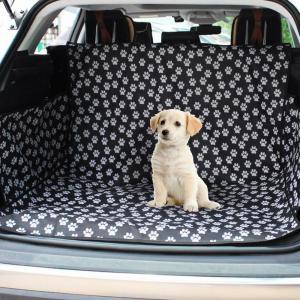 ペット用ドライブシートトランクマット 多機能 犬 シートカバー ペットシート カー用品 車後部座席 ...