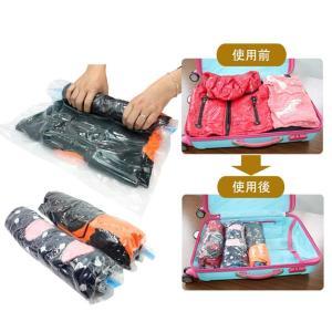 Gegenshi 圧縮袋, 衣類圧縮袋,衣類真空パック,手巻き圧縮袋,衣類圧縮袋,真空圧縮袋,布団収...