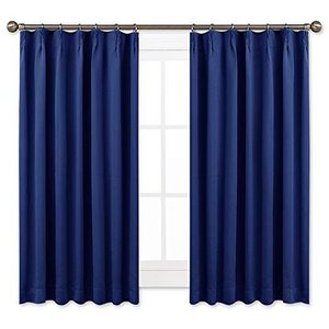 NICETOWN 遮光カーテン 2枚セット ローヤルブルー 省エネ UVカット遮熱 断熱 節電対策 ...