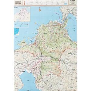 スクリーンマップ 分県地図 福岡県 (ポスター地図 | マップル)|shopnoa